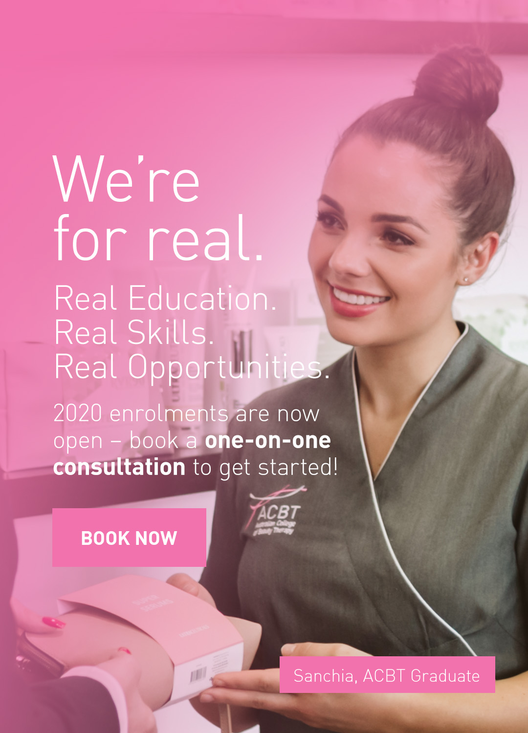 beauty therapy courses perth